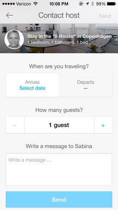 #Airbnb, #button, #profile, #proappslive