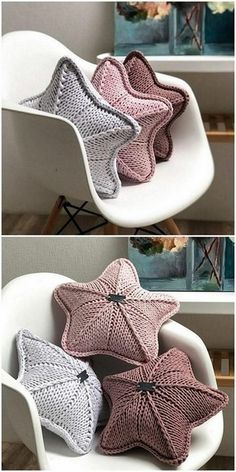 Best Crochet Pattern Projects Collection - Diy & C Crochet Home Decor, Crochet Crafts, Crochet Toys, Knit Crochet, Diy Crafts, Crochet Pillow Pattern, Crochet Cushions, Knit Pillow, Knitted Pillows