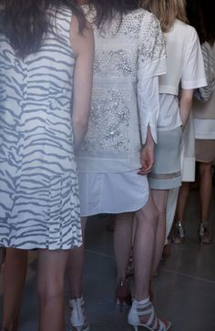 Rebecca Taylor Spring 2014 Runway Show - Backstage #nyfw