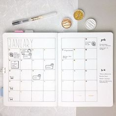 Hey there, I am so happy that you like my new metallic paints as much as I do and if you fancy to try them by yourself check out @colirocolors . Now it's time to show you my January monthly spread. The bronze dots with numbers on it are painted with the Coliro paint as well. Wish you a nice evening . #bulletjournal#bujojunkies#bulletjournalcommunity#planner#plannercommunity#plannergirl#filofax#filofaxing#stationery#wearebujo#germanbujojunkies#plannerstamps#sweetstampshop#studiol2e#nuuna#n...