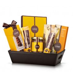 Discover the rich, delicious world of Corné Port-Royal Belgian chocolate in our vibrant new gift set. A handsome leather hamper is hand packed with an irresistible assortment of chocolates. Luxury Chocolate, Chocolate Brands, Belgian Chocolate, Chocolate Gifts, Chocolate Lovers, Send Gift Basket, Food Gift Baskets, Food Hampers, Chocolate Pizza