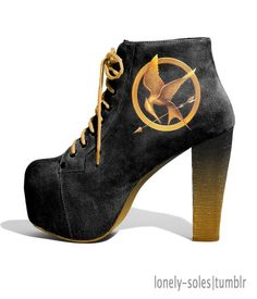 Want! Want! Want!!! Wish | The Hunger games Mockingjay Shoes