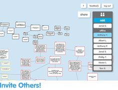 "Popplet to ""think together""."