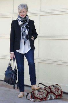 super ideas for clothes for women over 50 outfits 50 style Over 60 Fashion, Over 50 Womens Fashion, 50 Fashion, Look Fashion, Autumn Fashion, Fashion Outfits, Fashion Trends, Ladies Fashion, Feminine Fashion