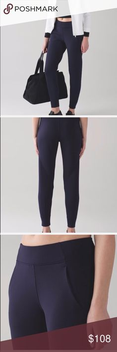 Lululemon Embrace The Space Pant NWT 4 Blue Lululemon Embrace The Space Pant NWT 4 Midnight Blue  NO TRADE lululemon athletica Pants