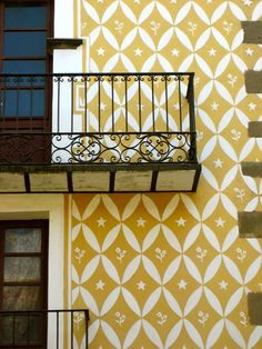 pattern on a Barcelona home