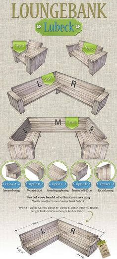 Timber lounge bench & The timber (scaffolding) we use are Recycled Timber Boards. We represent our timber furniture from ver . Timber Furniture, Garden Furniture, Outdoor Lounge, Outdoor Seating, Outdoor Couch, Diy Patio, Backyard Patio, 1001 Palettes, New Swedish Design