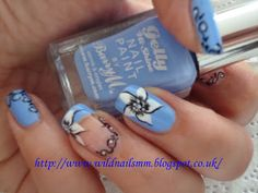 Wild Rose's Nails: Its time for blueberries