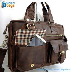 """Подумываете о том, что бы купить мужскую сумку из воловьей кожи? Настало это время! Только 4 Июля сумка, крос-боди, портфель среднего размера (13"""") по супескидке - дополнительно 10% к акционной цене за репост новости в соц.сетях!   http://7bags.com.ua/muzhskaya-kozhanaya-sumka-cherez-plecho-toro-leather-mtor-526/#.VZegcvntmko"""