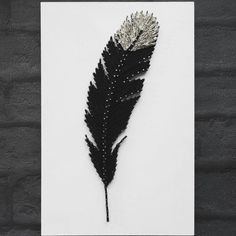 Hey, I found this really awesome Etsy listing at https://www.etsy.com/listing/267820447/feather-string-art-unique-handmade-gift