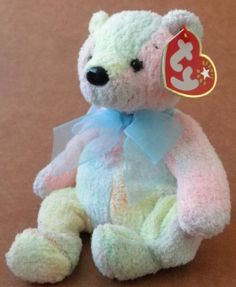 ec867cd942e TY Beanie Babies Mellow the Bear Plush Toy Stuffed Animal  7.46 +4.99