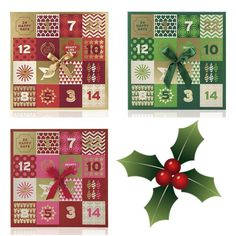 The Body Shop Advent Calendars for Holiday 2016