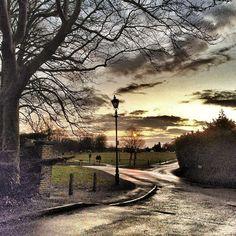 Redbourn Common after rain