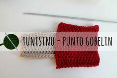uncinetto tunisino punto gobelin
