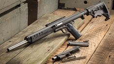 Installing without tools onto a full-size frame (not included), the Mech Tech Carbine Conversion Unit (CCU) legally coverts John Browning's venerated pistol into a carbine. Weapons Guns, Airsoft Guns, Guns And Ammo, Bushcraft, 1911 Pistol, Long Rifle, Submachine Gun, Cool Guns, Self Defense
