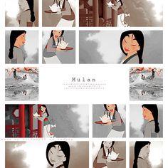 Mulan: Literally my favorite Disney Princess. Not even lying.
