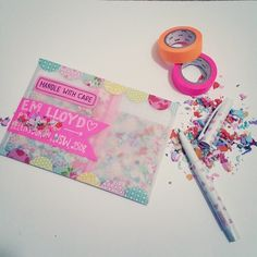 #humpdays are for #confetti & #kindwords  #mail #mailart #mailtag…                                                                                                                                                                                 More