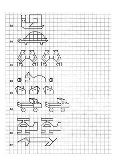 Manualidades a 0€, aprende manualidades gratis desde tu casa, sé autodidacta, ganate la vida siendo artesana. Blackwork Patterns, Blackwork Embroidery, Tangle Patterns, Graph Paper Art, Easy Drawings, Pixel Art, Symmetry Worksheets, Visual Perception Activities, Classroom Ideas