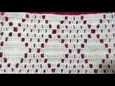 BAKLAVA MODELİ YELEK YAPILIŞI/BAKLAVA Model Vest Construction - YouTube Crochet Baby Dress Pattern, Crochet Diagram, Filet Crochet, Baby Blanket Crochet, Crochet Doilies, Crochet Lace, Crochet Stitches Patterns, Crochet Designs, Stitch Patterns
