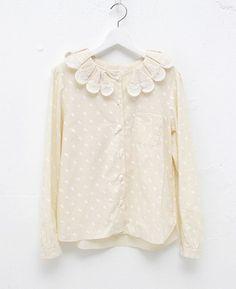 Cute collar blouses
