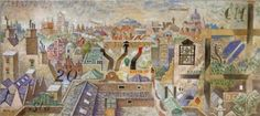 London roofs Ι, Oil painting, Nikos Hadjikyriakos-Ghika — at The Benaki Museum. Cubist Artists, The National, Benaki Museum, Greek Paintings, Byzantine Art, Greek Art, Art Database, Art For Art Sake, Finding Joy