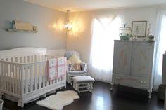 Project Nursery - Glamorous Shabby Chic Nursery