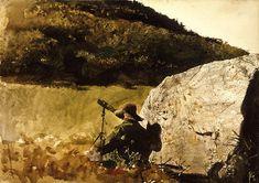 Hawk Mountain by Andrew Wyeth