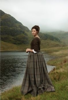 Photo stills of Claire from episodes 101, 102, and 103 | From Outlander costume designer Terry Dresbach's blog