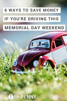 Over 38 million people are traveling for Memorial Day. Here are some simple ways to save money if you're planning on hitting the road - The Penny Hoarder http://www.thepennyhoarder.com/6-ways-to-save-money-if-youre-driving-this-memorial-day-weekend/