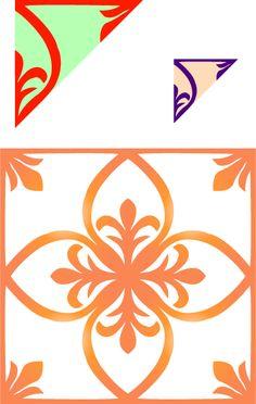 わりと簡単な切り紙の型紙(その1)の画像 - 別館かものはし・ゾーン - Yahoo!ブログ