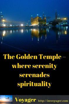 The Golden Temple - where serenity serenades spirituality