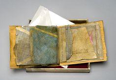 From Ailsa Golden - Making Handmade Books: Materials & Hidden Meaning  - using business envelopes