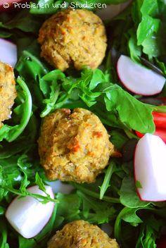 Rote Linsen Falafel aus dem Ofen   Ein Blog mit Rezepten für die vegetarische Studentenküche - Bunt, gesund und schnell kochen