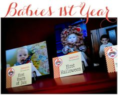 Baby's 1st Birthday Party Ideas.  Linen, Lace, & Love