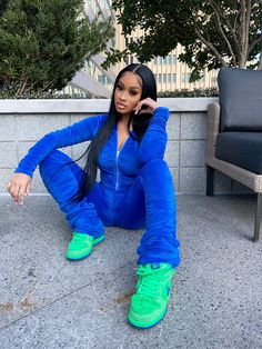 Swag Outfits For Girls, Chill Outfits, Cute Swag Outfits, Dope Outfits, Trendy Outfits, Fashion Outfits, Fashion Fashion, Black Girl Fashion, Tomboy Fashion