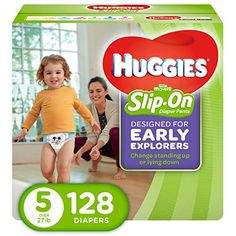 Huggies Little Movers Slip on Diaper Pants, Size 5 - 128 Count for sale online Huggies Little Movers, Huggies Diapers, Diaper Sizes, Disney Designs, Diaper Rash, Disposable Diapers, Potty Training, Free Baby Stuff, New Parents