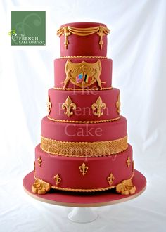 Wedding Cake Usa Belgium - Piece Montee Mariage Usa Belgique - Bruidstaart