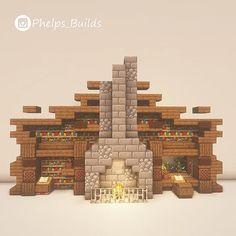 Chalet Minecraft, Château Minecraft, Casa Medieval Minecraft, Minecraft Welten, Minecraft House Plans, Minecraft Mansion, Minecraft House Tutorials, Cute Minecraft Houses, Minecraft Houses Blueprints