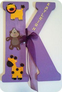 Nursery Letter Craft Idea