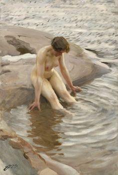 Wet. Anders Zorn, 1910
