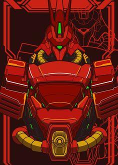 Big Robots, Cool Robots, Artwork Prints, Poster Prints, Eden Design, Gundam Wallpapers, Gundam Mobile Suit, Gundam Art, Custom Gundam