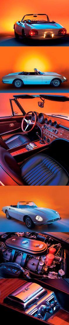 Cool Ferrari 2017: 1966 Ferrari 365 California / Tom Tjaarda @ Pininfarina / 14 produced / 4.4l Col...  Car Check more at http://carsboard.pro/2017/2017/02/23/ferrari-2017-1966-ferrari-365-california-tom-tjaarda-pininfarina-14-produced-4-4l-col-car/