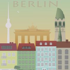 Poster. Grafisk Design. Illustration. Berlin.
