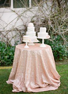 a trio of pretty cakes