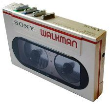 Sony Walkman. I thought I was something when I bought this!!
