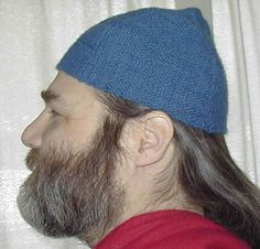 Tutorial (Intermediate) - How to make a basic viking hat. Wear it plain, in the style pictured here, or dress it up with a band of fur along the opening! (You know you want a furry hat.) This tutorial doesn't have step-by-step directions, but there's only one pattern piece. Email Christine if you can't figure it out.