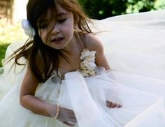 Tulle Flowergirl Dresses