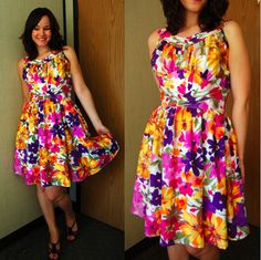 love this dress pattern....lengthen and put a cardigan over it!