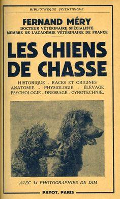 Méry. Les chiens de chasse. 1951