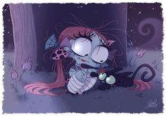 Sally (Nightmare Before Christmas) by David Gilson